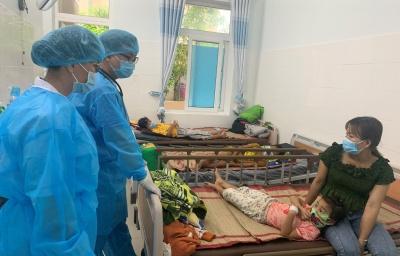 Bệnh viện Sản- Nhi tỉnh:  Xuất viện 24 trường hợp nhiễm và nghi nhiễm bệnh bạch hầu.